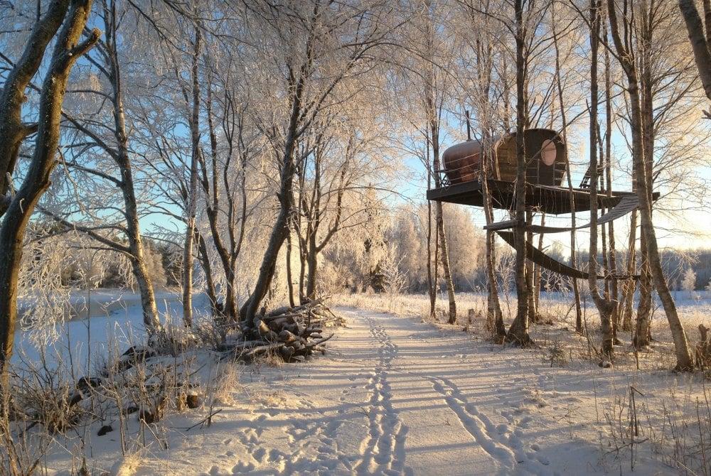 Sound Silence Natur als Inspiration Olokoto Winter