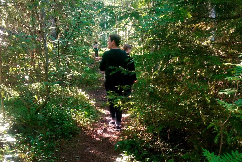 Sound Silence Natur als Inspiration Olokoto Wanderung der Stille