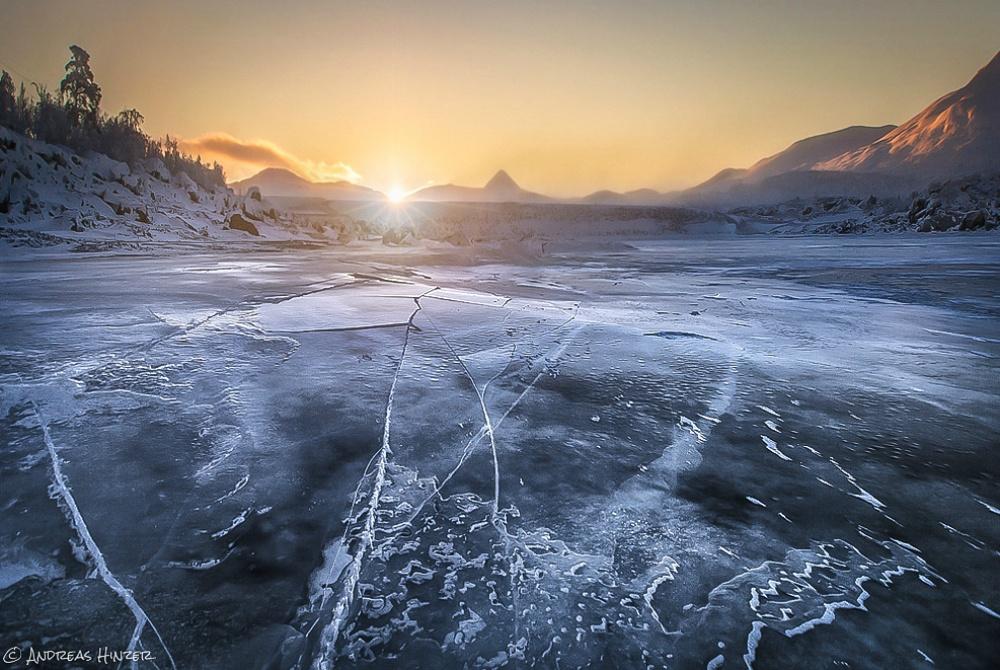 Stora Sjöfallet Winter