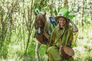 Finnland Oulu Kipponies Fairytale Forest Tour