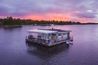 Finnland Oulu Koivurannan Saunalautta