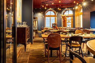 Finnland Oulu Restaurant Hugo Innenbereich