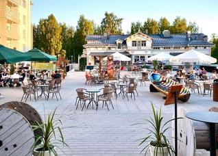 Finnland Oulu Restaurant Voimala 1889