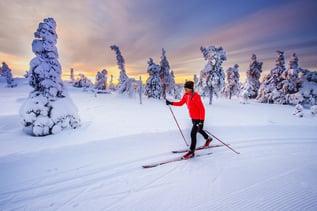 Finnland Ski Resort Iso-Syote