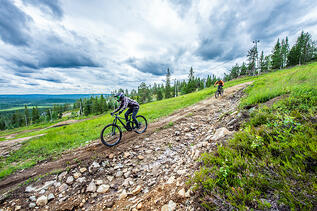 Finnland Syote Bike Park