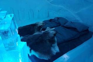 Finnland Salla SnowLounge Snowhotel