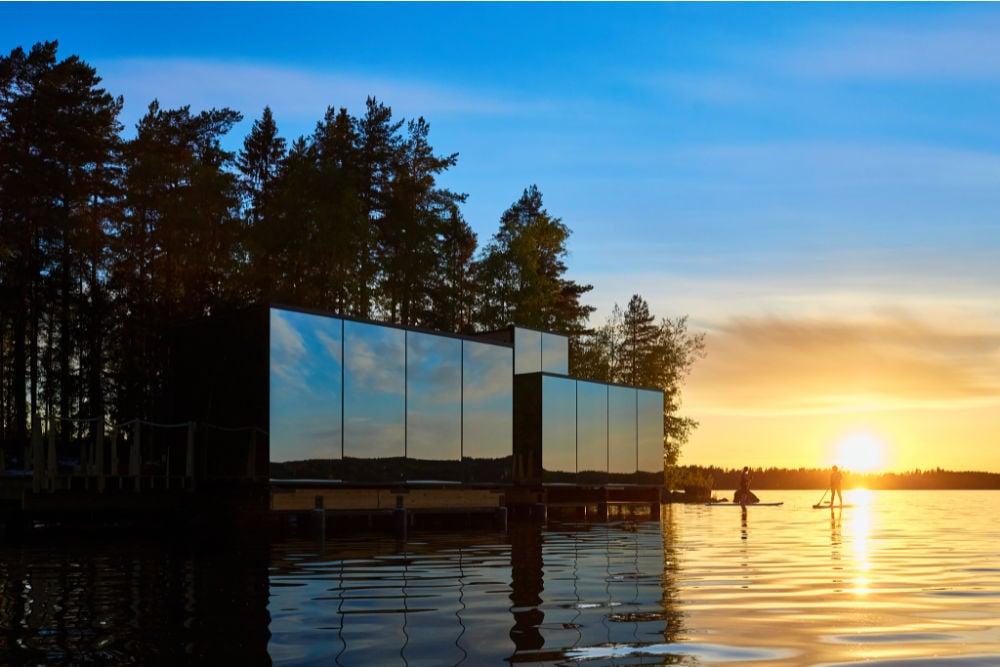 Visit Lahti-Haasi Mirror House Lehmonkärki