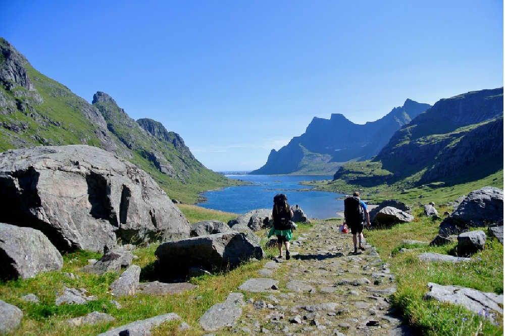 Wandern in Nordnorwegen-copyright Kristian Nashoug