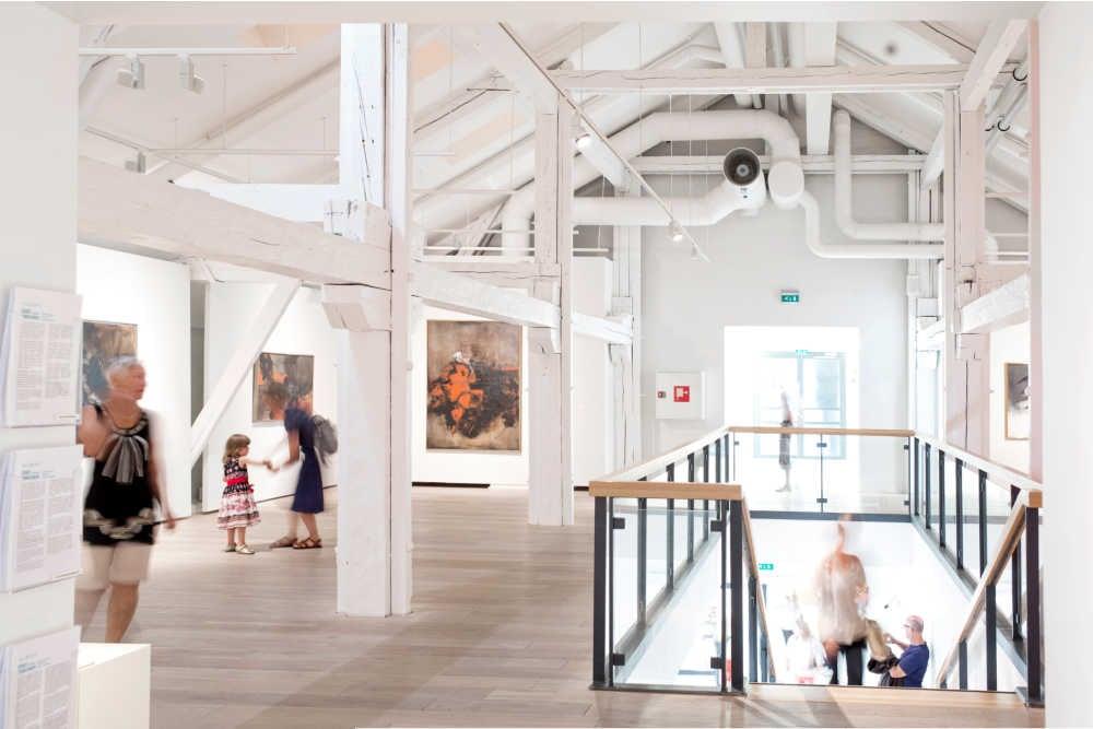 Kuntsi Museum of Modern art inside-City of Vaasa _ Mikko Lehtimäk