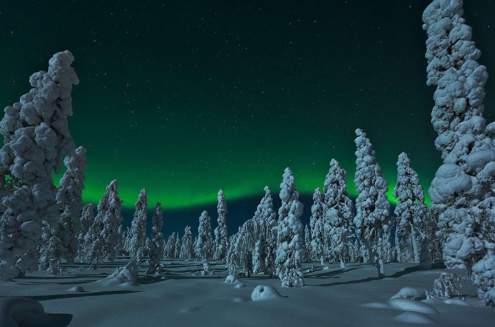 Northern Lights copyright Visit Rovaniemi