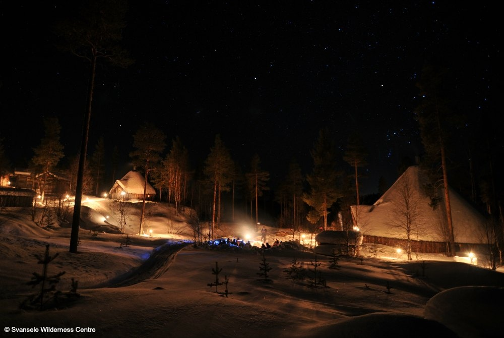 Svansele Wilderness camp
