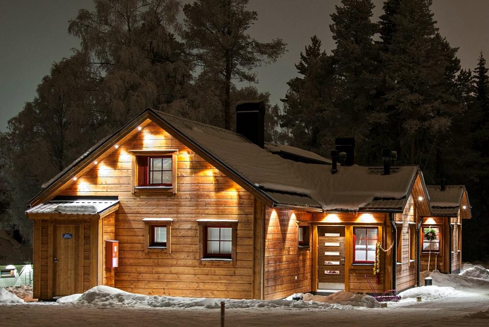 Vuokatinmaa 55qm Ferienhaus winter