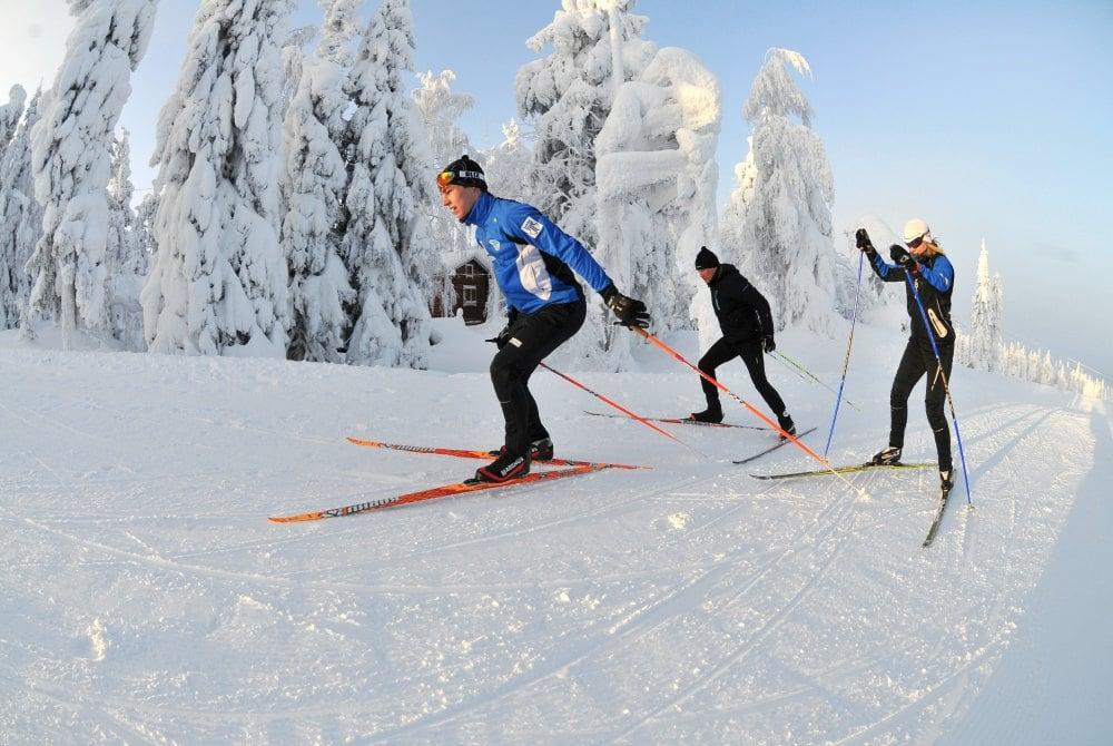 Vuokatti Travel Winter Abenteuertour in Vuokatti Skilanglauf
