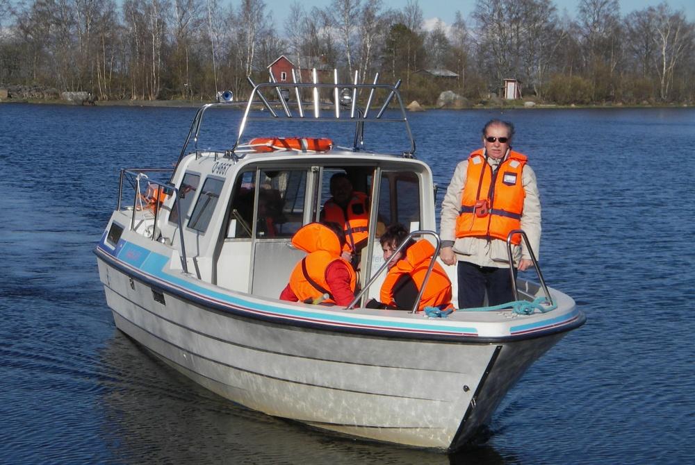 Multiaktivwoche Kalajoki Bootstour
