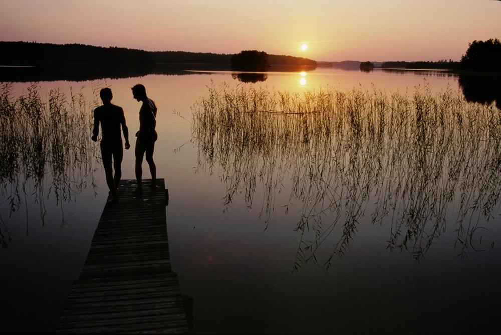 goSaimaa_lake_sundown