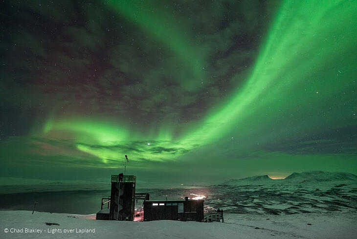 Kiruna Lappland-Chad Blakley - Lights over Lapland