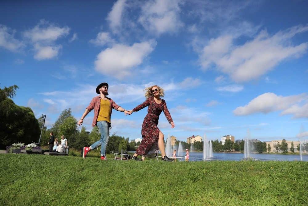 Sommer in Oulu