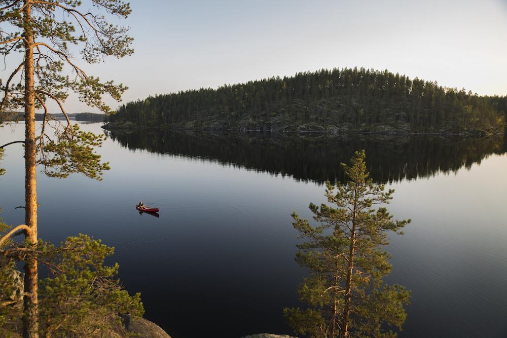 Finnland Kulku-Karu Survival-canoeing ©Karu Survival