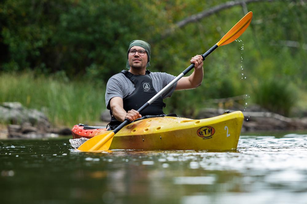 Finnland Kulku-Saimaan Palju-kayaking © Saimaan Palju