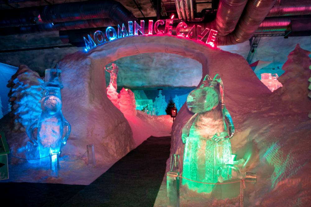 Northern-Savo-Lakeland-Gateway_Moomin_Ice_Cave_Leppävirta_Vesileppis_Copyright_Sofia Tenhunen