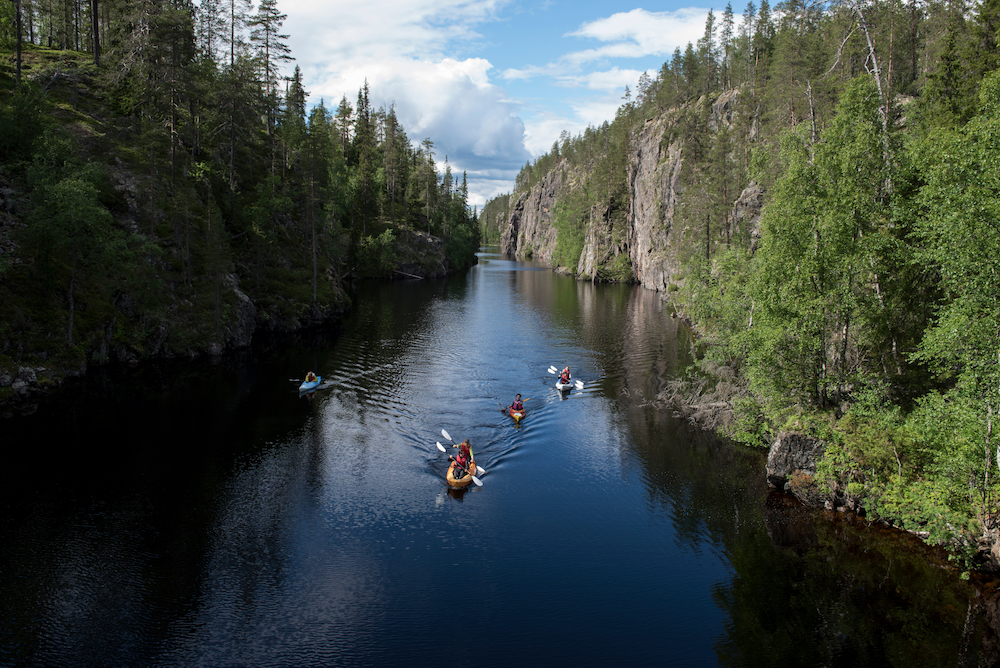 Wild Taiga Canoeing