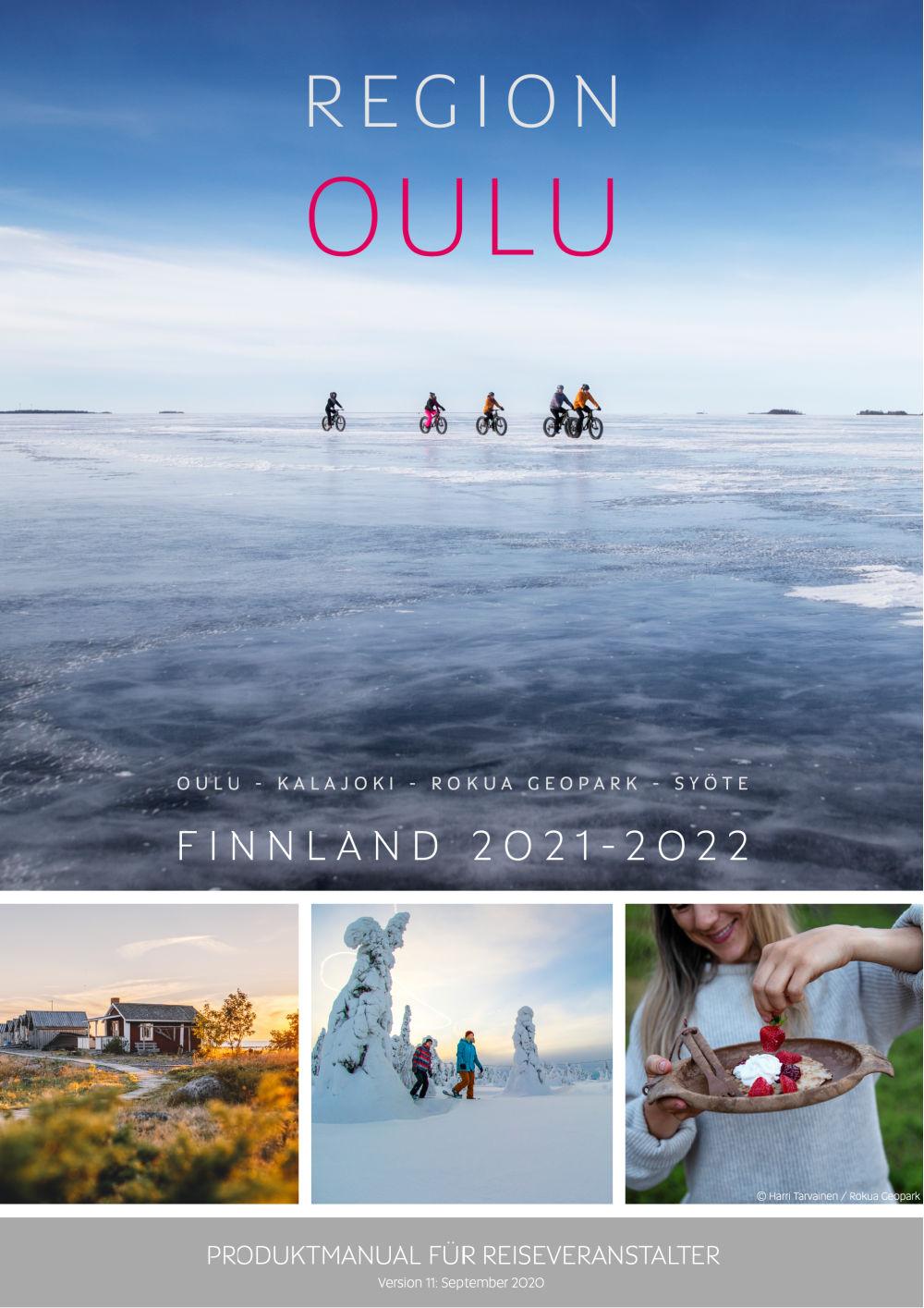 Produktmanual Region Oulu Finnland 2021-2022