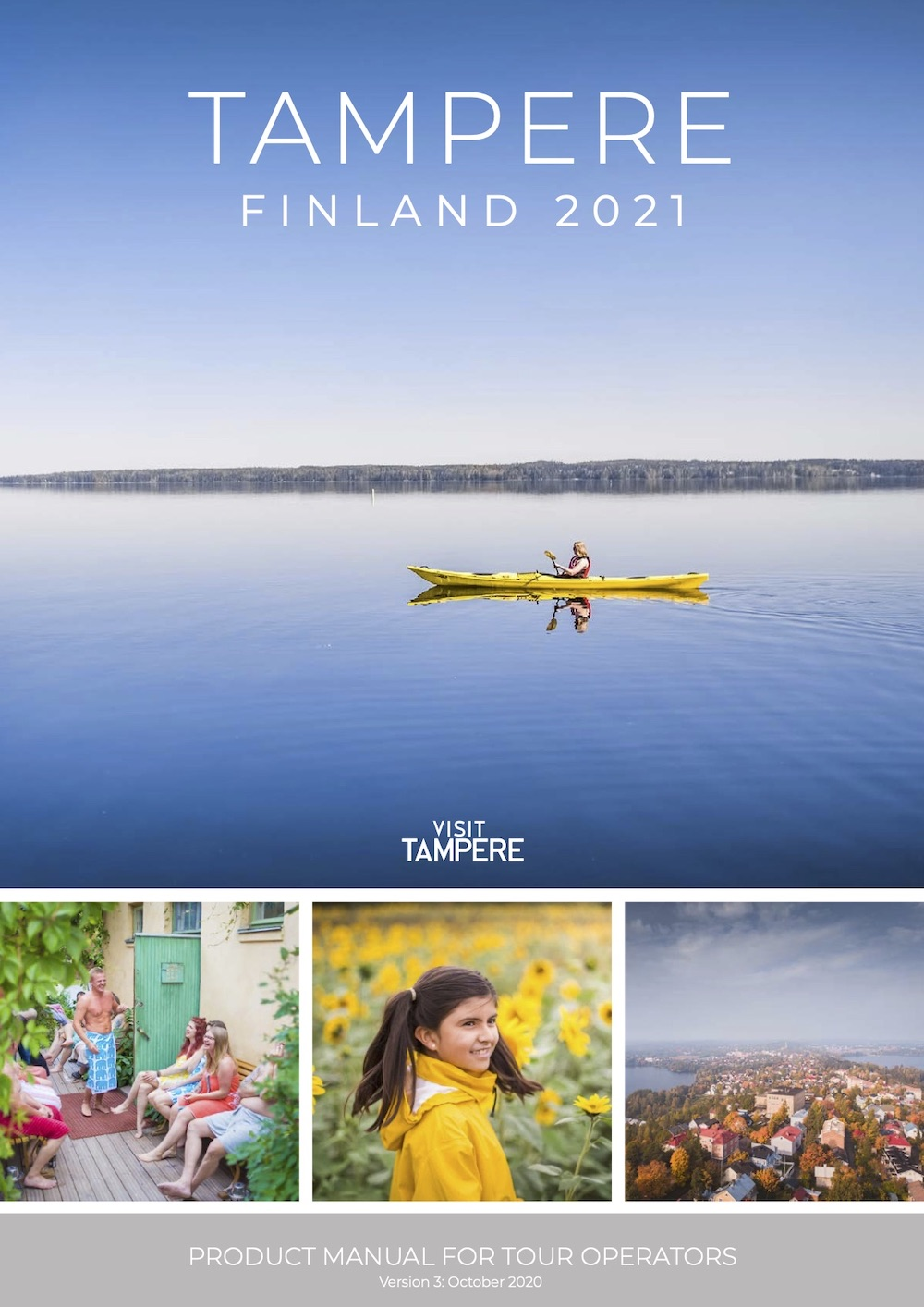Product Manual Tampere Finland 2021 Cover