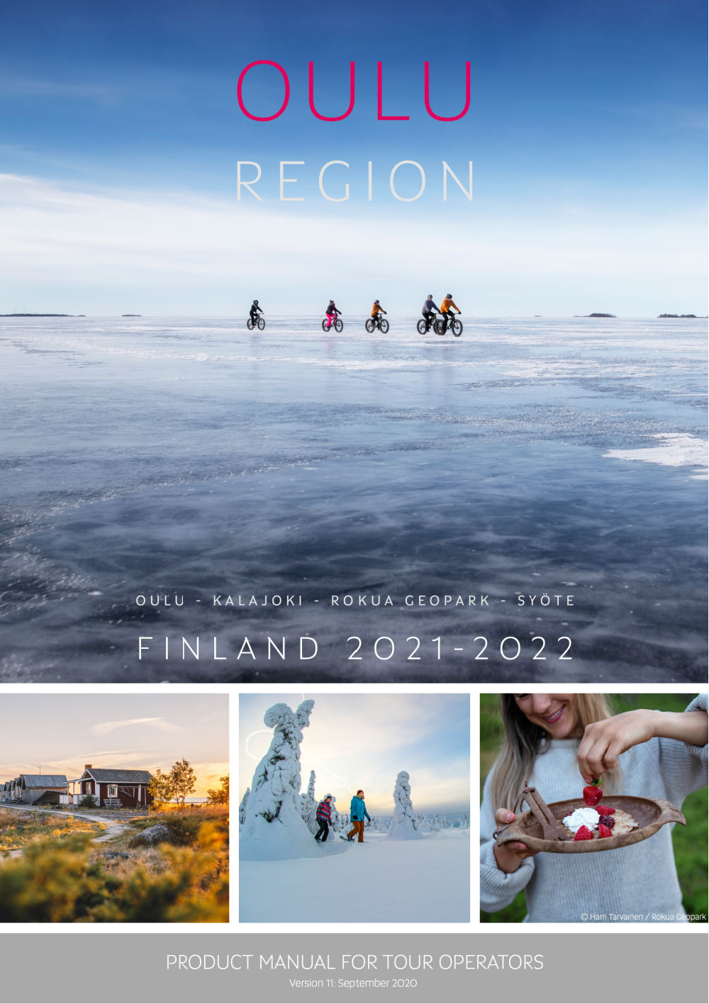 Product manual Oulu Region Finland 2021-2022