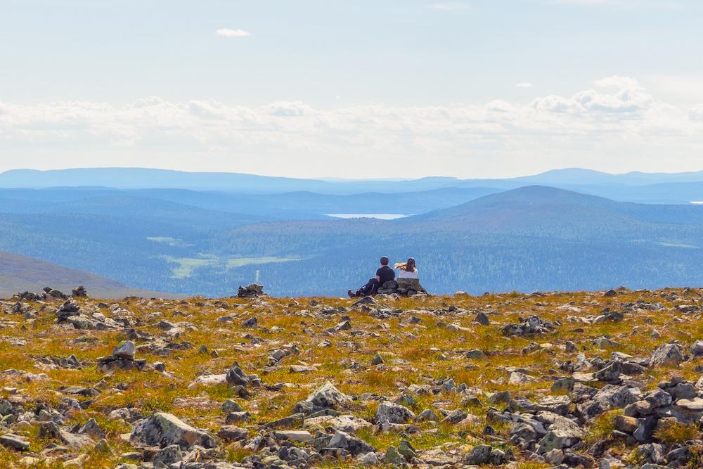 Levi Aktivitäten im Nationalpark Aussicht © Juuso Ritari