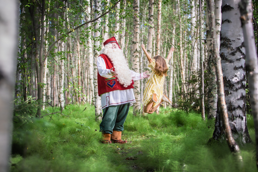 VAE Visit Rovaniemi Santa in summer © Visit Rovaniemi
