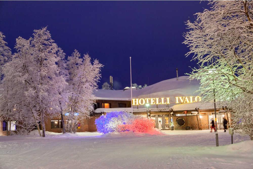 VAE Ivalo Hotel Ivalo-Winter-Aussenaufnahme-website