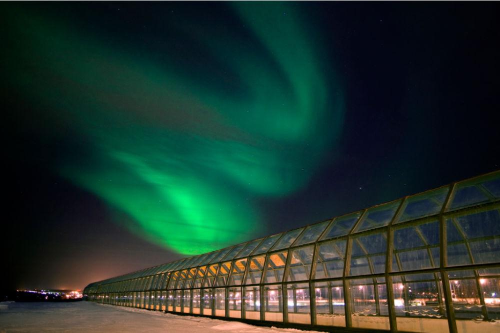 Arktikum-northernlights-copyright pekka-koski