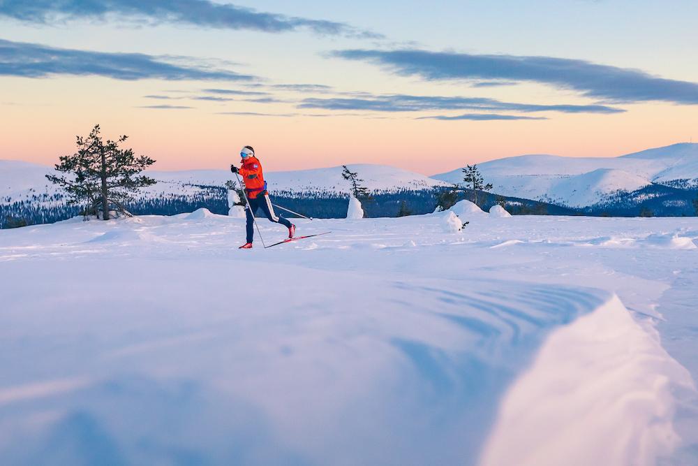 VAE Finland  Pallas-Yllästunturi National Park Winter
