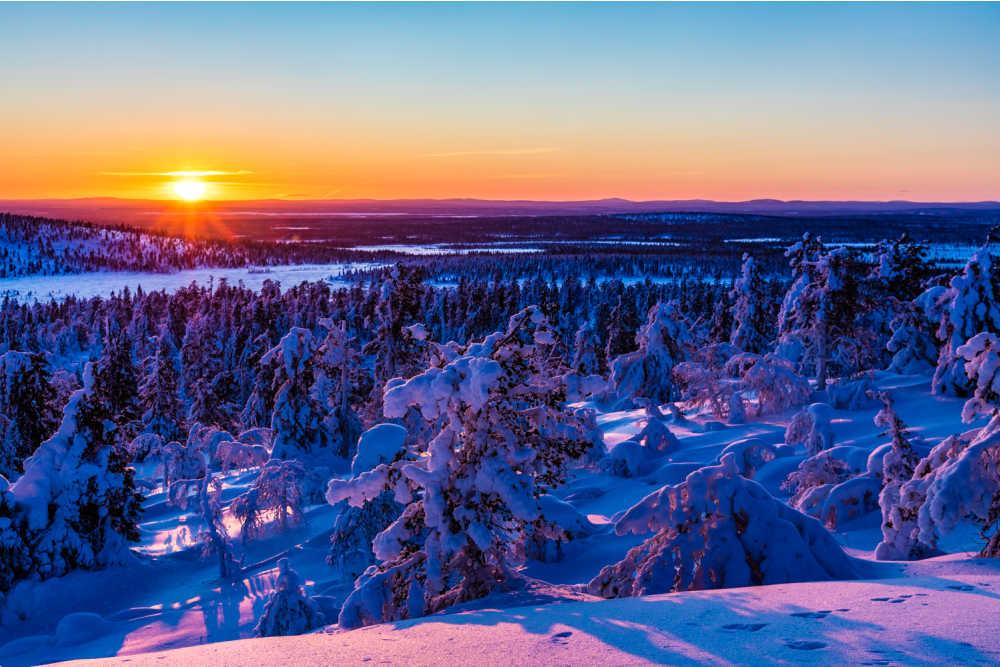VAE Heart of Lapland winter sun ©Heart of Lapland