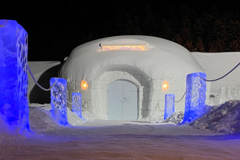 VAE Norway Sorrisniva AS Igloo hotel ©Sorrisniva AS
