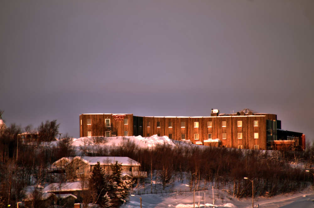 VAE Norway Thon Hotel Kautokeino Außenansicht