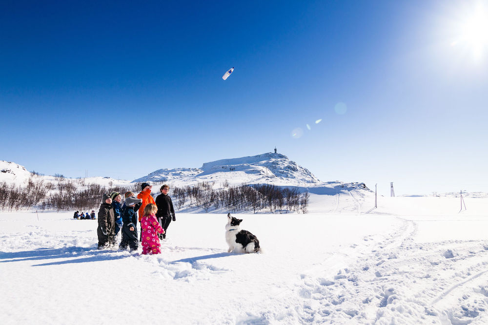 VAE Norwegen Hammerfest Winter outside