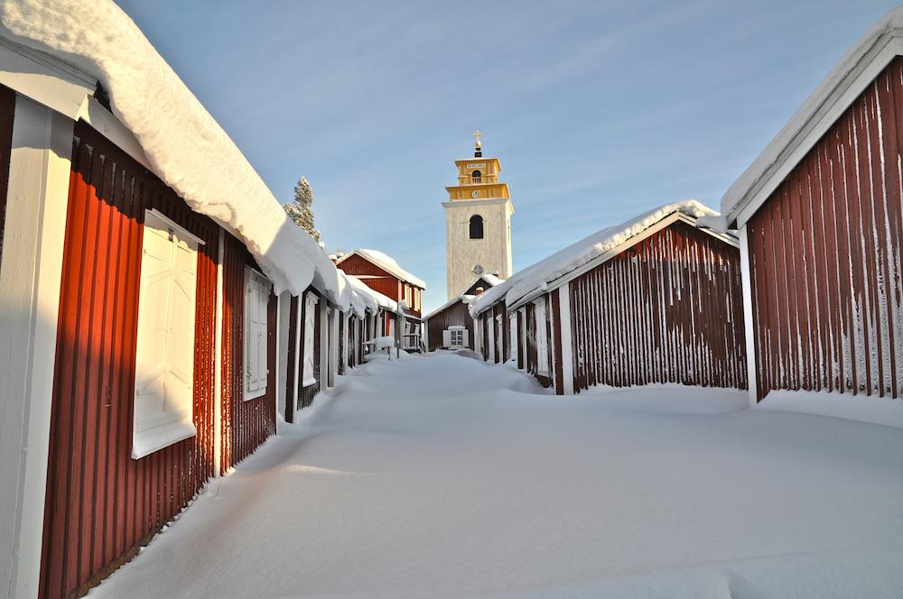 Schweden Luleå Gammelstad Winter Graeme Richardson